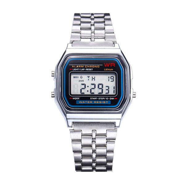 [Free Ship]SKMEI Mens Watch LED Digital Watch Waterproof Military Quartz Analog Wrist Watches Malaysia
