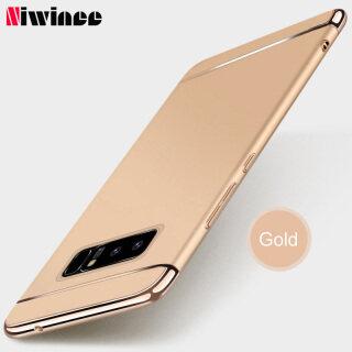 Ốp Điện Thoại NIWINEE Cho Samsung Galaxy Note 8 Note 9, Ốp Điện Thoại Cứng Siêu Mỏng 3 Trong 1 Sang Trọng thumbnail