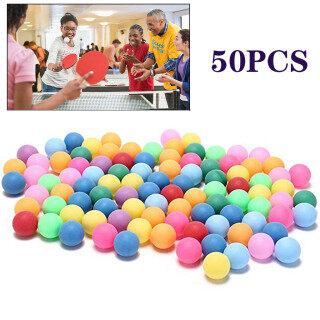 Miễn Phí Vận Chuyển 50 Cái gói Màu Pong Balls, Bóng Bàn Giải Trí 40Mm thumbnail