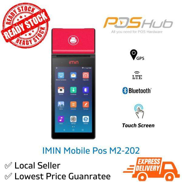 IMIN Mobile POS Android Terminal with 58mm Printer M2-202 Malaysia