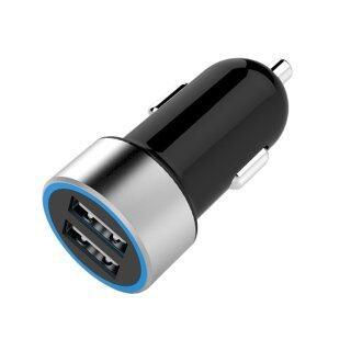 H-MENT Bộ Chuyển Đổi Sạc Nhanh Cho Xe Hơi Cổng USB Kép 5V 2.4A Cho Điện Thoại Máy Tính Bảng thumbnail