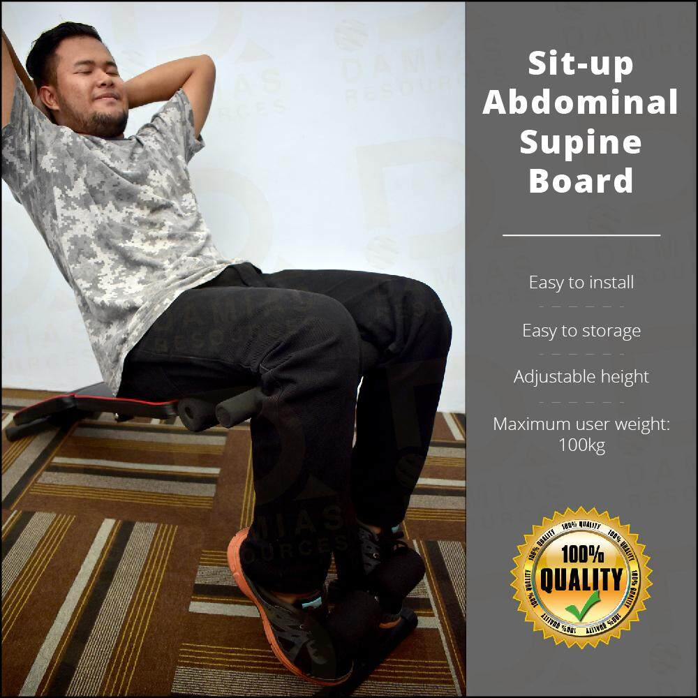 Sit Up Abdominal Supine Board ( Simple and easy )