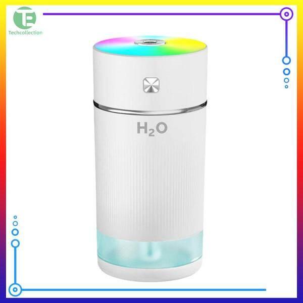 Techcollection 1.8W Mute Humidifier Desktop Night Light Electric Air Purifier for Car Home Singapore