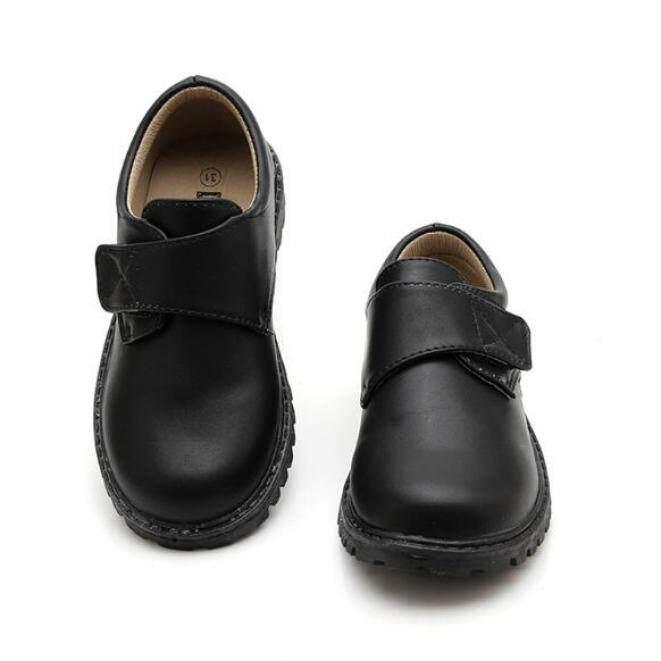 Giày Da Cho Bé Trai Giày Da Thật Cho Đám Cưới Trẻ Em Giày Oxford Thiết Kế Trang Phục Giày Đen giá rẻ