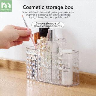 Hộp đựng mỹ phẩm đồ trang sức để bàn Homenhome bằng nhựa cao cấp, kích thước 19 5 13cm - INTL thumbnail
