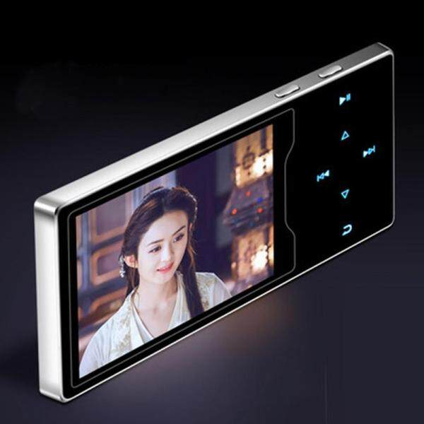 Newest Original RUIZU D08 8GB Metal MP3 Player 2.4in HD Large Color Screen HIFI Lossless Sound FM Radio Ebook Video Player With Built-in Speaker