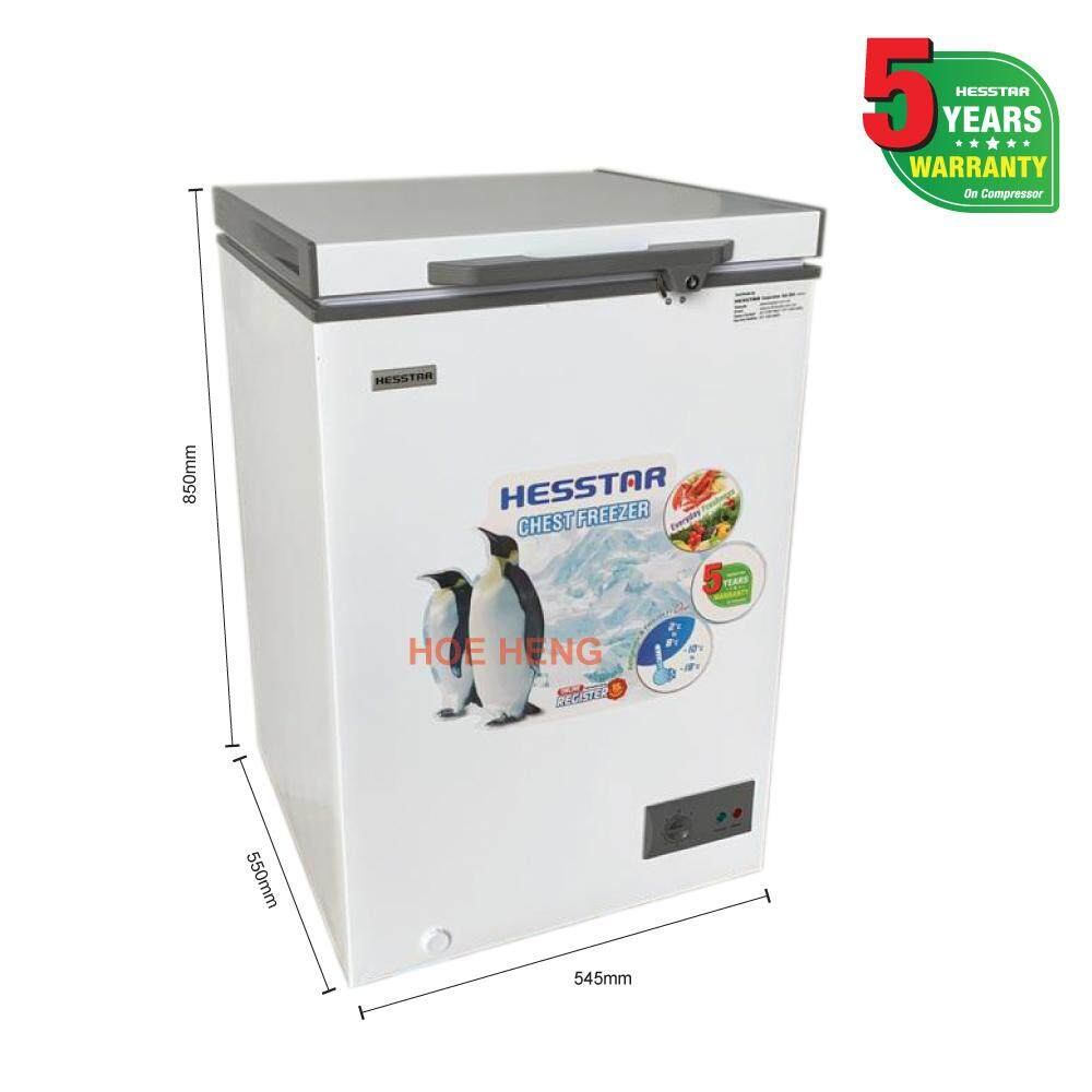 Hesstar 2 IN 1 Dual Freezer HCF-PD11L (110L)