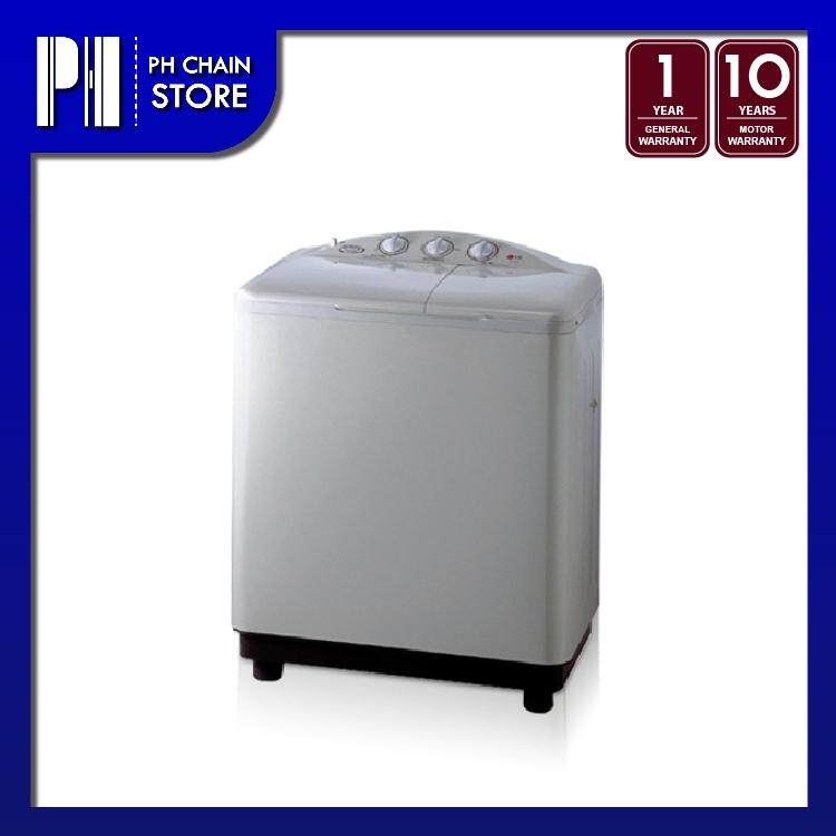 LG WP-800 8kg Twin Tub Semi Auto Washing Machine with Roller Jet Pulsator