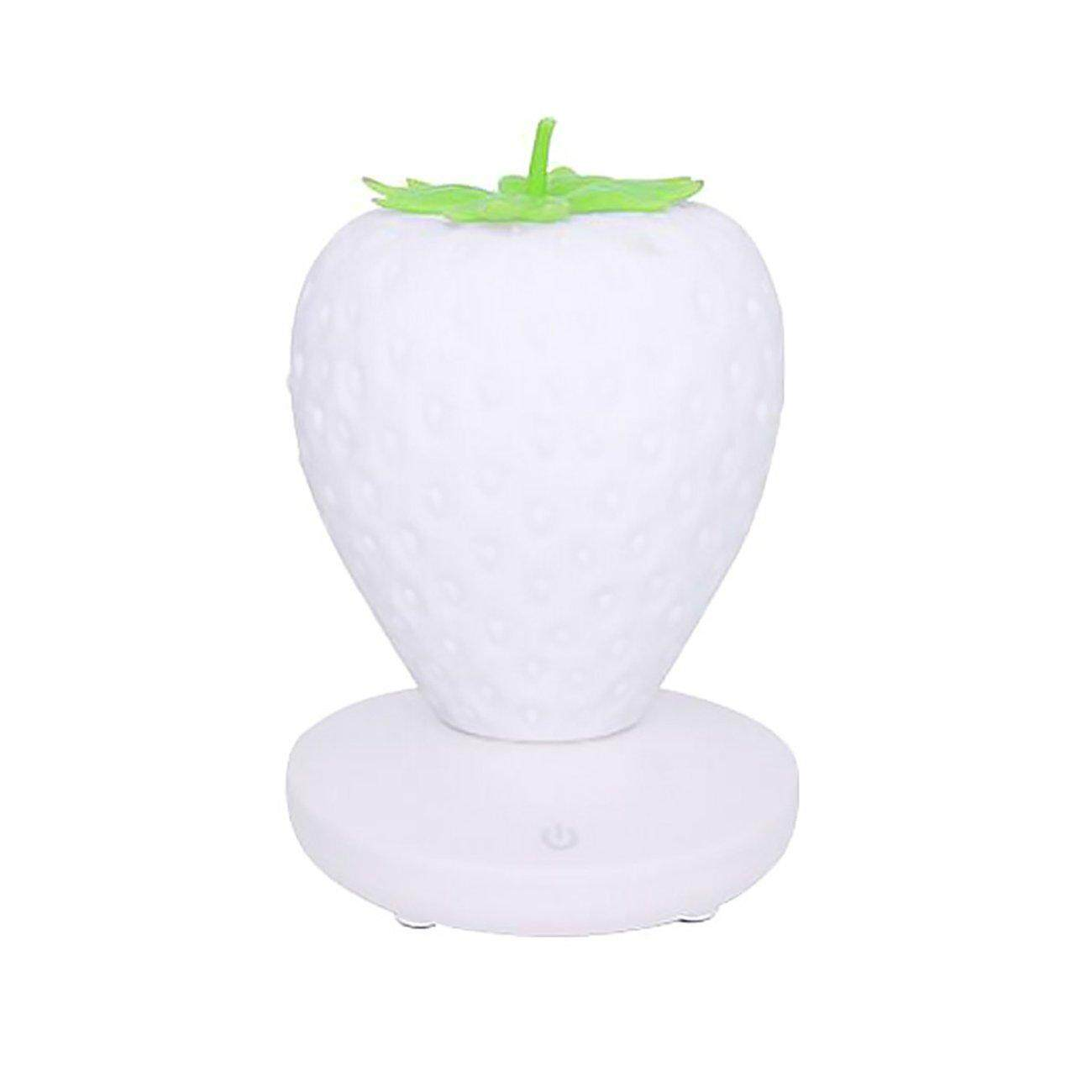 Hot Deals Silicone Strawberry Bedroom Led Charging Eye Care Energy Saving Night Light