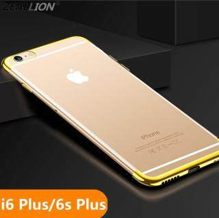 Ốp Zeallion Cho Apple iPhone 6 Plus 6S Plus 5.5 Ốp Lưng TPU Trong Suốt Siêu Mỏng Mềm - INTL thumbnail