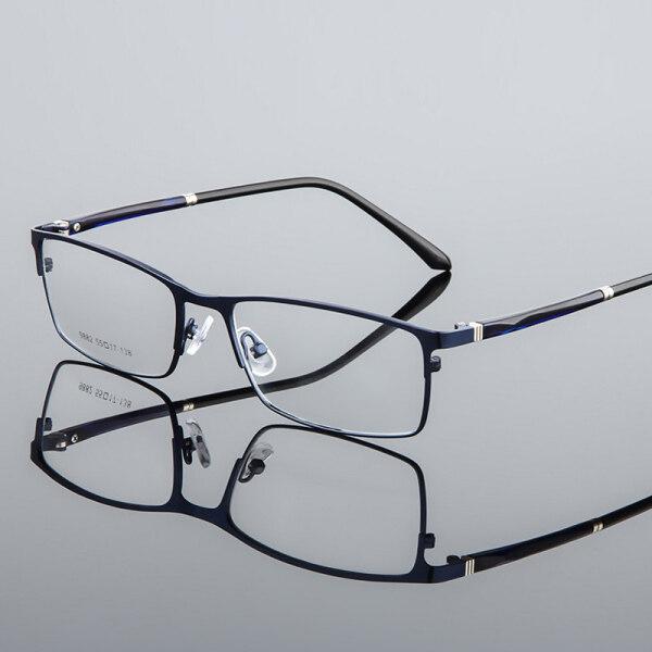 Giá bán Gọng kính cận quang học làm bằng hợp kim dành cho nam và nữ, có thể thay đổi tròng kính (kính 0 độ) - INTL