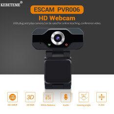 KEBETEME Webcam 1080P Webcam HD 2MP 1920X1080P 30FPS 130 ° Góc Rộng HD USB Webcam Có Micrô Cho Máy Tính Để Bàn Máy Tính Xách Tay