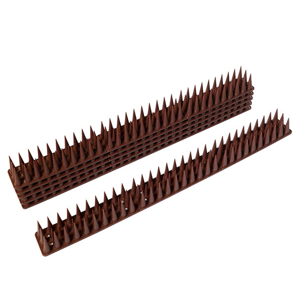 10PCS Bird Repellent Tool Anti-theft Repellent Nail Cat Small Animal Repellent Fix to Wall Fence or Roof