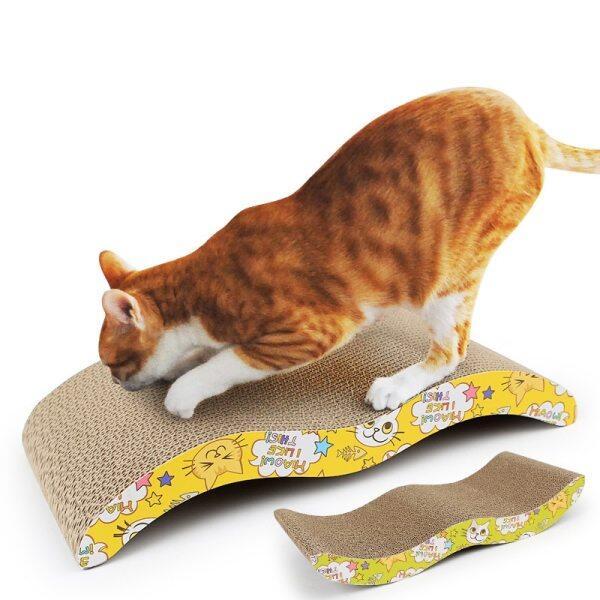 Bảng Cào Móng Cho Mèo Pad Bài Viết Cào Kitten Giấy Gợn Sóng Pad Đồ Chơi Cho Mèo Giấy Gợn Sóng Mèo Mài Scratcher Board
