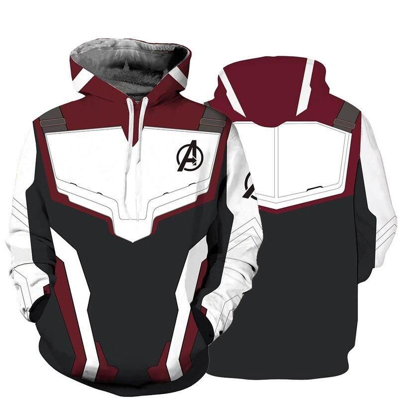 3d Avengers 4 พิมพ์ Hoody เสื้อลำลองแขนยาวแบบถอดออกทางศีรษะ By Superstore1005.