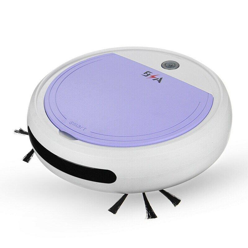 Robot Hút Bụi Tự Động Sạc Điện 7 Trong 1 Robot Hút Bụi 3200PA Hút Mạnh USB Không Dây Có Sạc