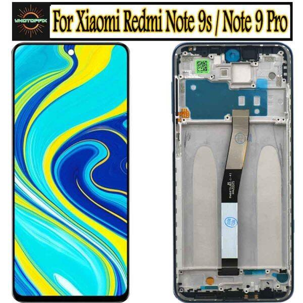 Original 6.67 For Xiaomi Redmi Note 9 Pro LCD Display Touch Screen Digitizer Assembly M2003J6B2G for Redmi Note 9S LCD Display Malaysia