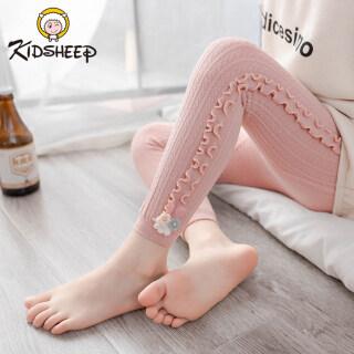 Kidsheep quần legging bé gái Cô gái cotton Legging Quần linh hoạt Quần legging thoải mái và co giãn thumbnail