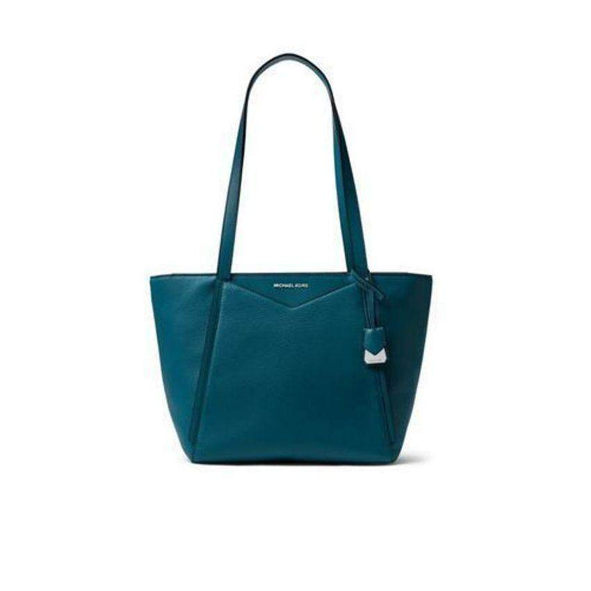 fb60b5b59377 NEW Michael Kors Women's Whitney Top Zip Tote - Small Luxe Teal  -30S8SN1T1L-402