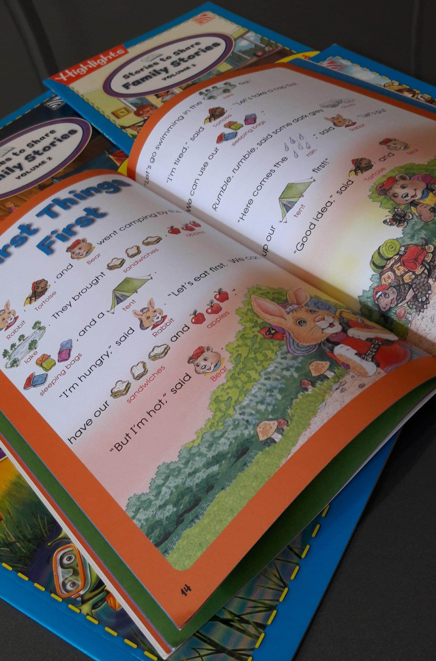 English Story Books / Picture Dictionary Story Books for Children / Kids