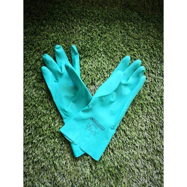 Rubberex Nitrile Chemical Resistant Gloves Sarung Tangan Racun