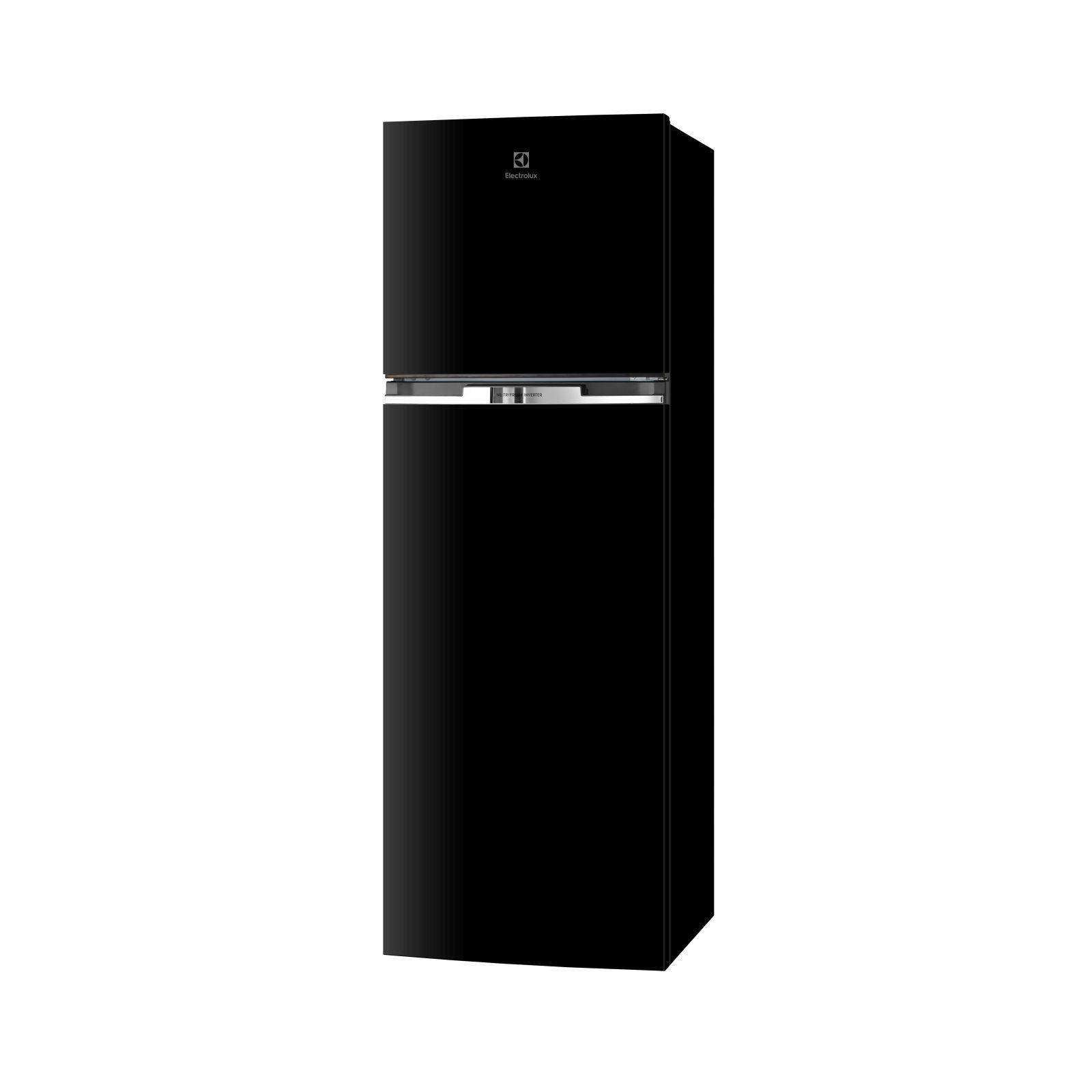 Electrolux 320L NutriFresh® Inverter Top Mount Fridge - High Gloss Black ETB3400H-H