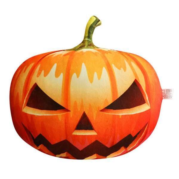 Stuffed Pumpkin Fluffy Pumpkin Plush Cushion Funny Toy for Halloween Decoration