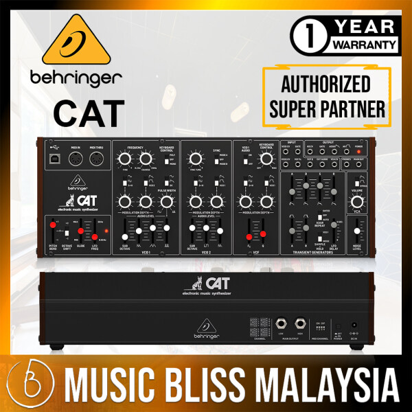 Behringer CAT Desktop Duophonic Analog Synthesizer Module Malaysia
