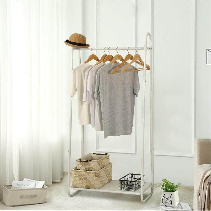 Home-Like  Garment Rack Metal Coat Rack Shoes Clothes Storage Shelves Indoor/Outdoor Heavy Duty Drying Rack Simple Houseware Clothing Garment Rack