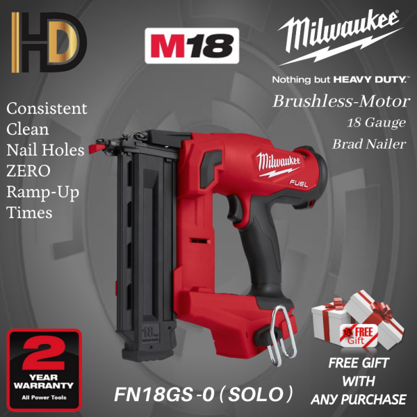 Milwaukee M18 FN18GS-0 Fuel 18 GA Gauge Brad Nailer ( SOLO )