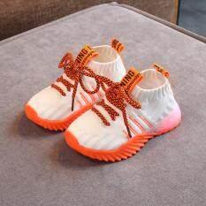 Giày Thể Thao KIO Cho Trẻ Mới Biết Đi, Giày Sneaker Phát Sáng Đèn LED Lưới Bé Trai Bé Gái Trẻ Sơ Sinh