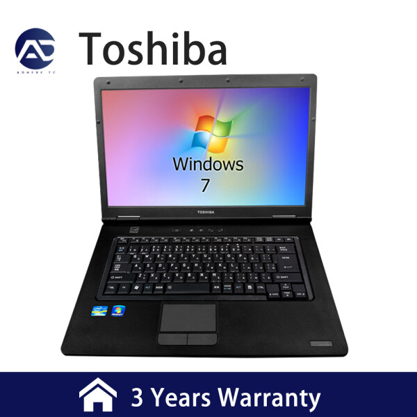[3 Years Warranty] Toshiba laptops (fourth i3)play dual-core/quad-core solid-state hard drive gaming notebooks/business office student notebooks(4+128G) Malaysia