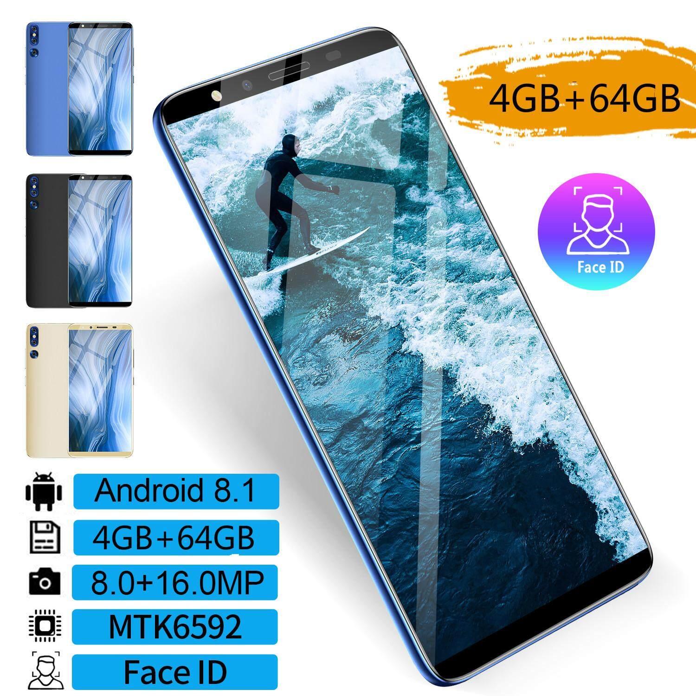 Giảm Giá Quá Đã Phải Mua Ngay 【Free Earphone】4GB RAM + 64GB ROM Mobile Phone P20 Plus 5.8 Inch 8.0+16MP Dual SIM Card Face ID Android Smartphone