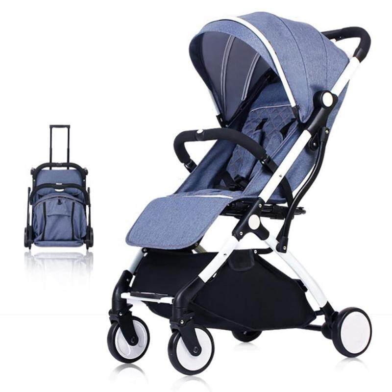 Baby Stroller Portable Lightweight Stroller Foldable Mini Pocket Cart with Umbrella 3-in1 Singapore