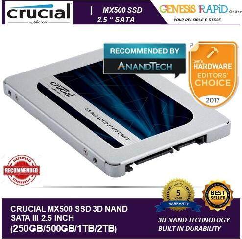 Crucial Internal Solid State Drives price in Malaysia - Best Crucial