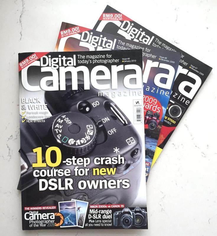 Digital Camera Magazine Issue 47, 48, 49 (set of 3) Malaysia