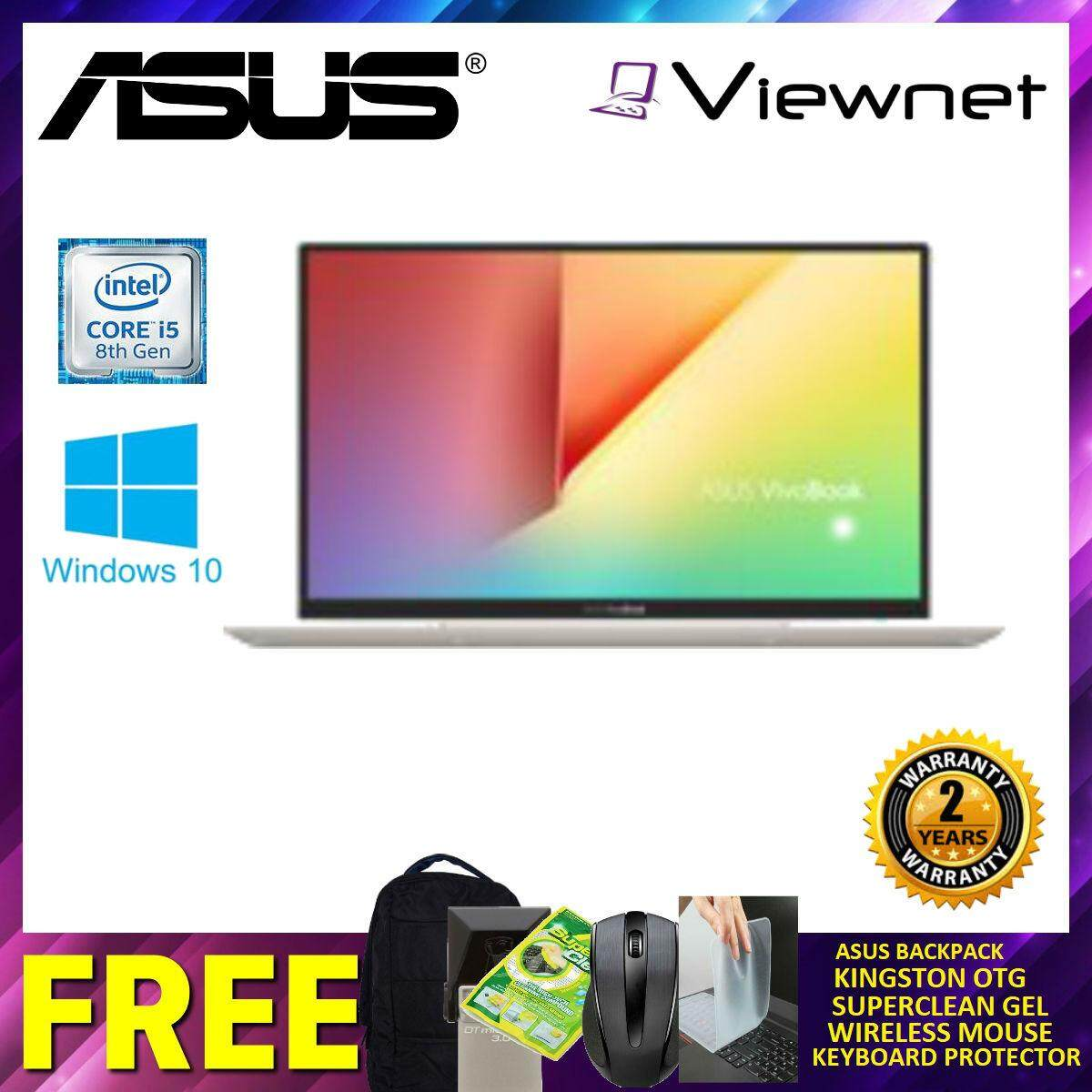 Asus Vivobook K403F-AEB087T 14 FHD Silver Laptop (Intel Core I5-8265U/8GB DDR4/512GB SSD/Intel HD /W10) Malaysia
