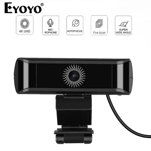 4K 1080P autofocus Webcam Camera Built-in Microphone USB Webcam Computer Classes Video Calling