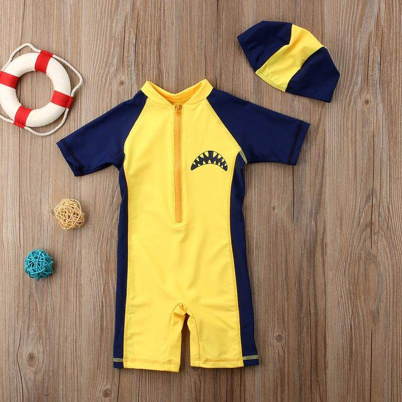 Cute Baby Kids Boys Summer Beach Swimwear Swimsuit Clothes Swimming Costume By Nikit.