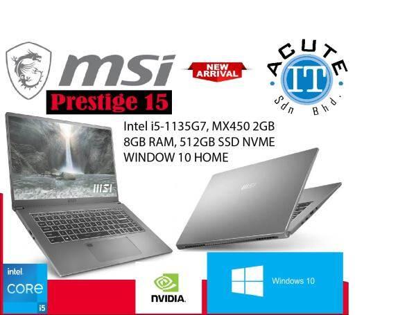MSI Prestige 15 A11SB-449 (SILVER) 15.6 FHD Laptop Malaysia