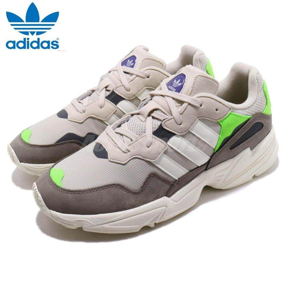 purchase cheap 96983 02ed7 Adidas New Originals Yung-96 Shoes F97182 Clear Brown   Off White   Solar  Green