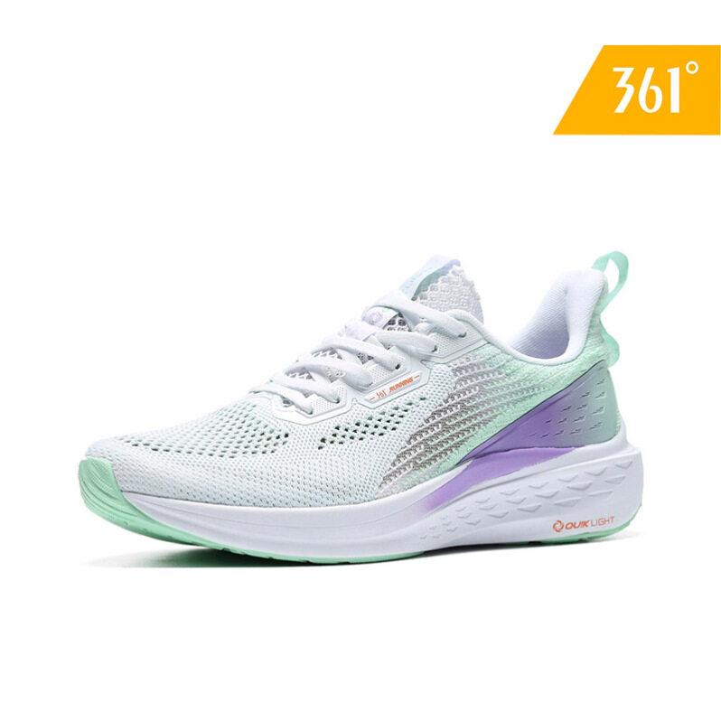 361 Độ Nữ Lưới Thoáng Khí Giày Chạy Bộ Rực Rỡ Cô Gái Nhẹ Thời Trang Hoang Dã Sneakers582022241 giá rẻ