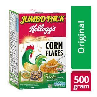 KELLOGGS Corn Flakes Cereal Jumbo Pack 500g