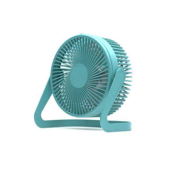 5/6/8 Inches 360° Rotate USB Desk Fan with Switch 2 Speeds Air Cooling Fan for Home Office Desktop Car Outdoor Travel