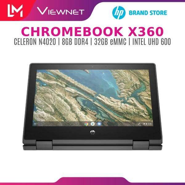 """HP Chromebook x360 11 G3 EE Intel Celeron N4020 / 11.6"""" HD Touch Display / 4GB DDR4/ 32GB eMMC / Chrome OS / 1 Year Warranty Malaysia"""