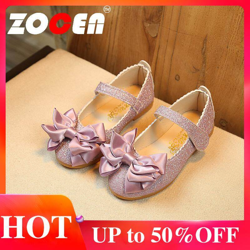 de1ea223f8a65 ZOCEN Kids Shoes Girls Shoes Bright Leather Shoes Girls Princess Shoes  Sandals for Girls