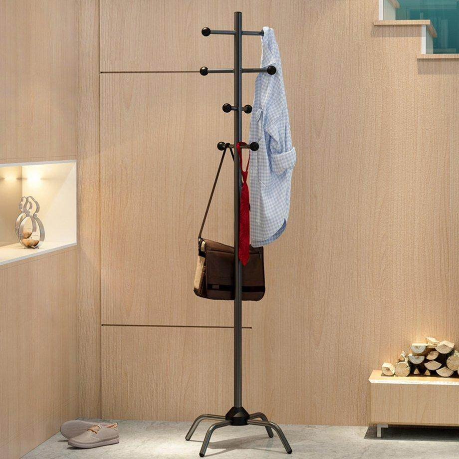 Top Sell Household Coat Rack Bedroom Economy Clothes Rack Floor Hanger Simple Assembly