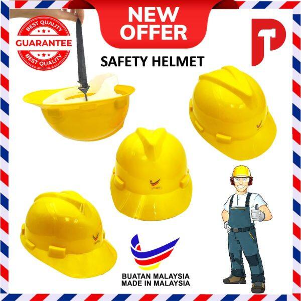 Yellow Safety Helmet (Made In MALAYSIA)