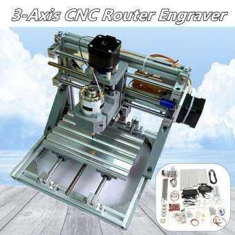 【จัดส่งฟรี + ข้อเสนอสุดพิเศษ + ข้อเสนอจำกัด】 DIY CNC Router เครื่องแกะสลัก 3 แกน PCB ชุดเครื่องมือแกะสลักไม้กัดพีวีซี