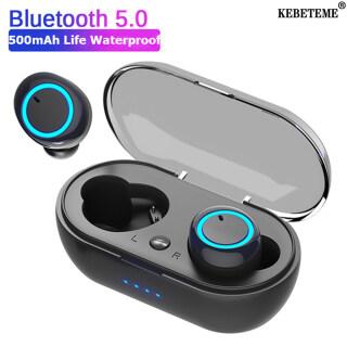 Tai Nghe KEBETEME TWS Bluetooth 5.0 Tai Nghe Không Dây, Tai Nghe Thể Thao, Chơi Game Âm Thanh Stereo Tai Nghe Tai Nghe Điều Khiển Cảm Ứng Có Mic thumbnail